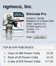 'Free' game Eliminate enters the US Top Grossing Top 100