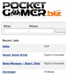 New jobs for mobile game coders, artists and sales managers