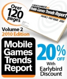 Get 20% off the PG.biz Mobile Games Trends Report 2010