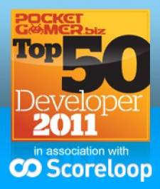 PocketGamer.biz unveils the top 50 developers of 2011