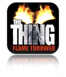 Universal Pictures and metaio team up to launch AR release The Thing: Flame Thrower on iOS and Android