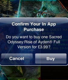 Gameloft's Sacred Odyssey try-before-you-buy model off to a slow start