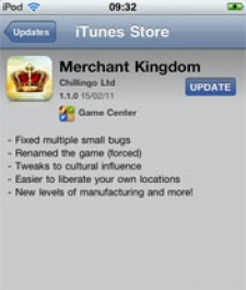 App Store name clashes continue as My Kingdom forced to rename as Merchant Kingdom