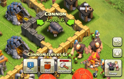 Clash Of Clans Game Concept Art