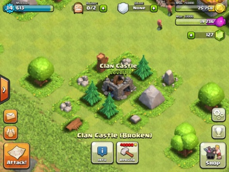 clash of clans old version