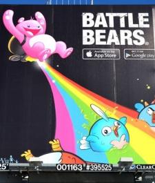 SkyVu celebrates 20 million Battle Bear downloads with big SF advertising blitz