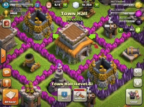 clash of clans all upgrades