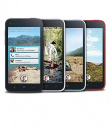 Phoney move: Zuckerberg unveils Facebook Home, a social skin for Android smartphones
