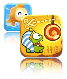 The Charticle: Battle of the paid games - Fish Out of Water vs. Cut the Rope: Time Travel