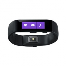 Microsoft joins the wearable battle with its notification and fitness-friendly Band