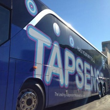 TapSense awards $10,000 ad spend to winning team for its 2014 Hacker Bus hackathon