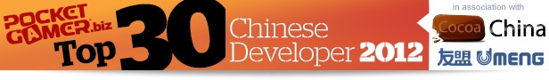 Top 30 Chinese Developer 2012