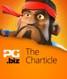 Which unlikely country was the first to see Boom Beach hit #1 Top Grossing?