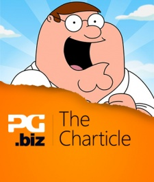 Did Family Guy's quest for cash push it to the top of the charts?