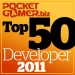 Top 50 Mobile Game Developers of 2011