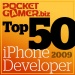 The Top 50 iPhone Developers of 2009