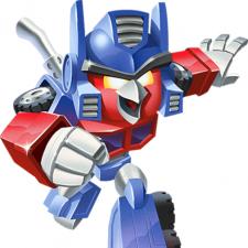 Rovio taps up Hasbro to launch Angry Birds Transformers range