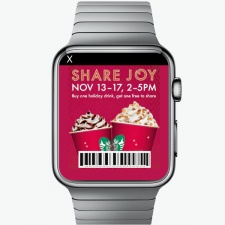 Is this what ads will look like on the Apple Watch?