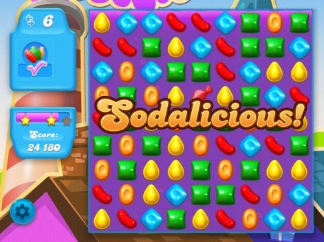 candy crush soda saga king