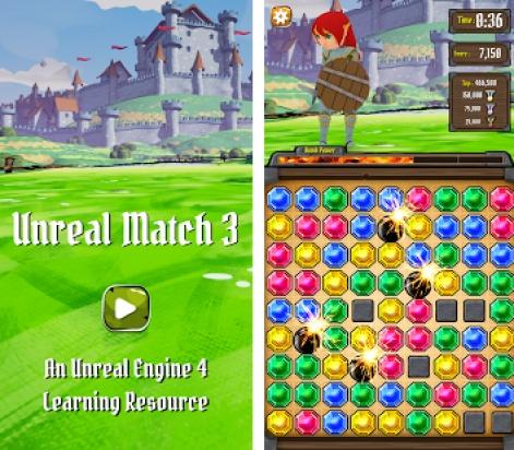 Epic releases Unreal Match 3 | Pocket Gamer biz | PGbiz