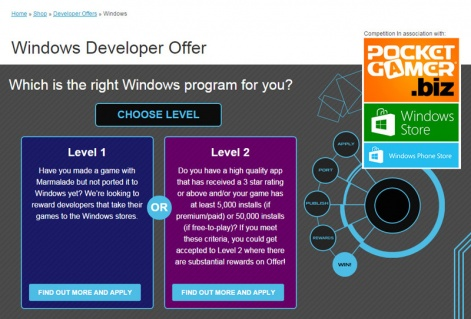 Sponsored feature: Marmalade and Microsoft extend Windows Developer ...