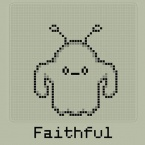 Hatchi - A retro virtual pet logo