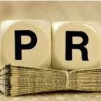 The PR timeline logo