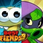 How has the market responded to the changing genres of Plants vs. Zombies and Best Fiends? logo
