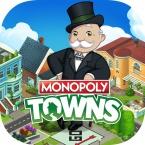 Monopoly Towns logo