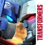 How did Transformers: Forged to Fight affect the grossing position of Transformers: Earth Wars?