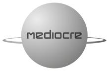 Mediocre logo