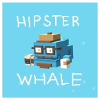 Hipster Whale logo