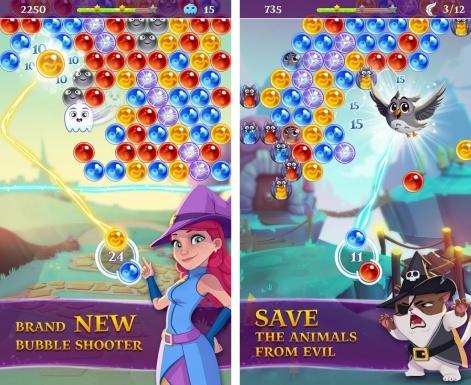 скачать игру Bubble Witch Saga 3 - фото 10