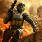 Frontline Commando: Rivals logo
