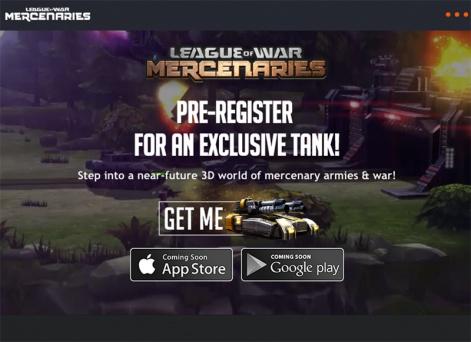 how pre registration worked for league of war mercenaries pocket