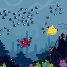Hectic arcade game Die Fish makes a splash at PG Connects Helsinki Very Big Indie Pitch
