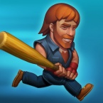 Flaregames soft-launches new Nonstop Knight title Nonstop Chuck Norris logo