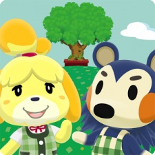 How does the launch of Animal Crossing: Pocket Camp compare to past Nintendo games?