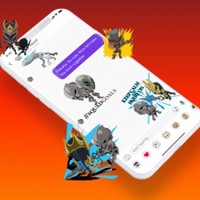 Chair Entertainment partners with messaging app Pundit on a pack of Infinity Blade stickers