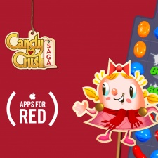 King partners with AIDS charity (RED) on three charity IAPs across the Candy Crush franchise