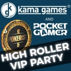Join KamaGames and Pocket Gamer for 'High Roller' party time during ChinaJoy 2017