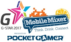 G-STAR Mobile Mixer @ Gamescom 2017 – presented by Pocket Gamer