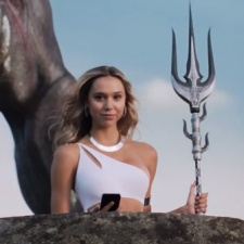 How is MZ's marketing campaign with influencer Alexis Ren working out for Final Fantasy XV: A New Empire?