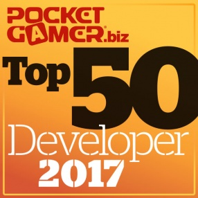 Top 50 Mobile Game Developers of 2017