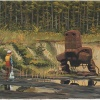 Stugan founder to auction off Simon Stålenhag's Forest Iron Painting to benefit games accelerator