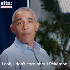 Former US president Barack Obama doesn't care for Pokemon