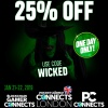 24-hour Halloween 25% discount on Pocket Gamer Connects London