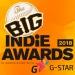 The Big Indie Awards this week!