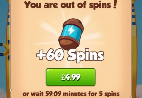 Coin mas free spins no deposit