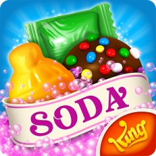 Candy Crush Soda Saga fizzes into top 10 of global grossing mobile game charts for January 2018